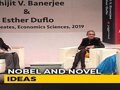 Prannoy Roy In Conversation With Nobel Laureates Abhijit Banerjee, Esther Duflo
