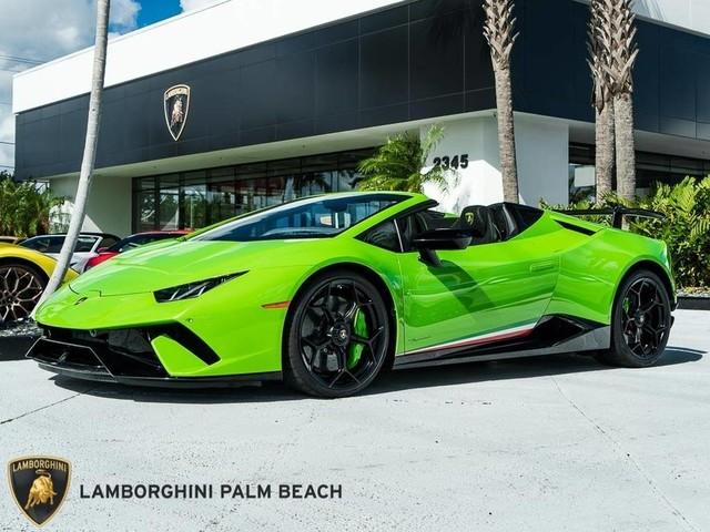 2018 Lamborghini Huracan--Performante