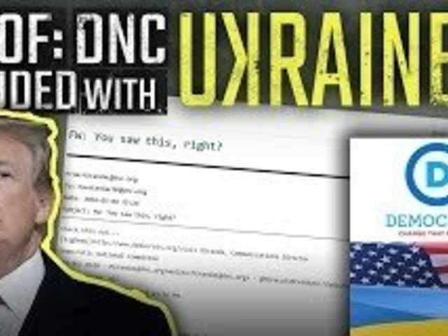 Audio and email EVIDENCE: DNC colluded with Ukraine to take down Trump in 2016