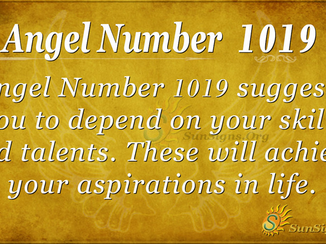 Angel Number 1019 Meaning: Be True To Yourself