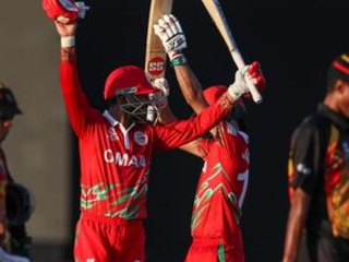 Oman thumps debutant PNG by 10 wkts in T20 World Cup