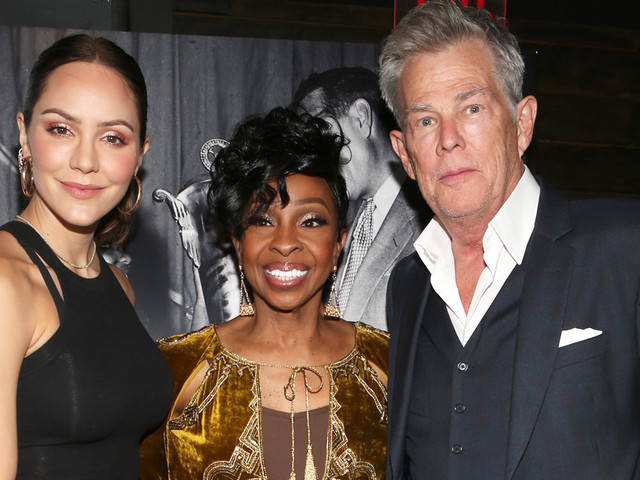 Katharine McPhee & David Foster Couple Up at Gladys Knight's 75th Birthday Party!