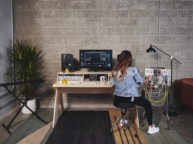 Platform is finally a desk made for electronic musicians, engineered by an architect