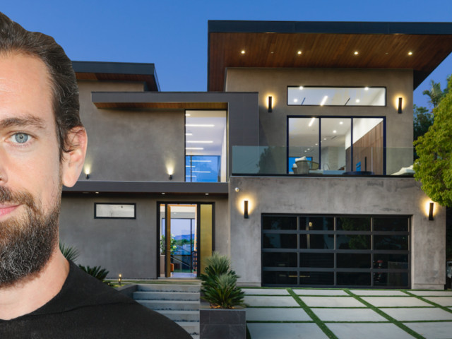 Twitter CEO Jack Dorsey listed his Hollywood Hills home for $4.5 million barely a year after buying it — here's a look inside the mansion