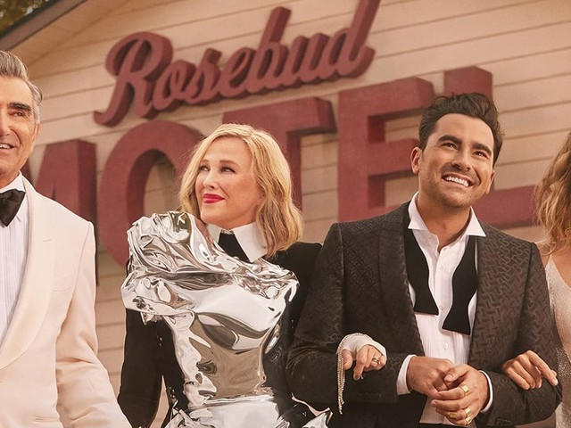 """Cue David Rose's """"Oh My God"""" - Eugene and Dan Levy Are Releasing a Schitt's Creek Book"""