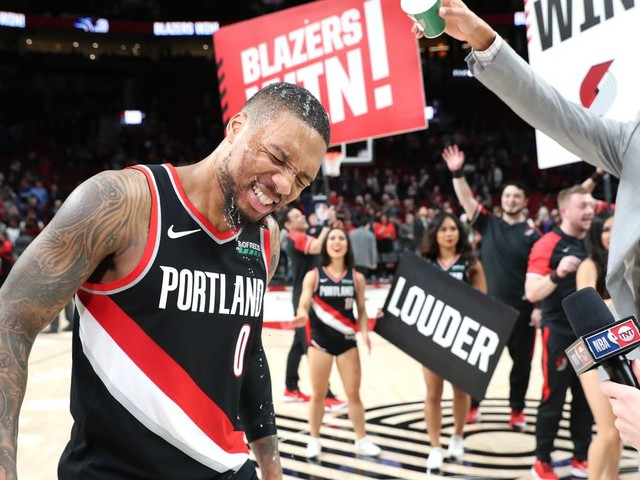 Damian Lillard scored 61 points to beat the Warriors because he can