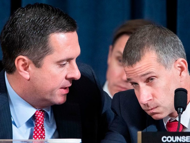Devin Nunes and Jim Jordan led the Republican attack against Democrats and impeachment witnesses on the first day of public hearings