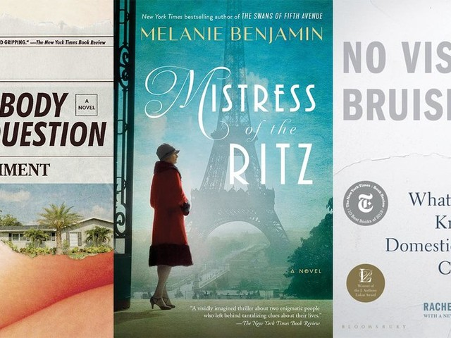 New in Paperback: 'Mistress of the Ritz' and 'No Visible Bruises'