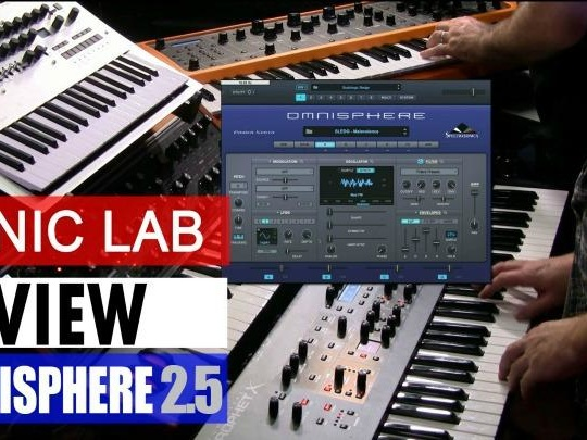 Sonic Lab: Omnisphere 2.5 Hardware Synth Profiles (video)