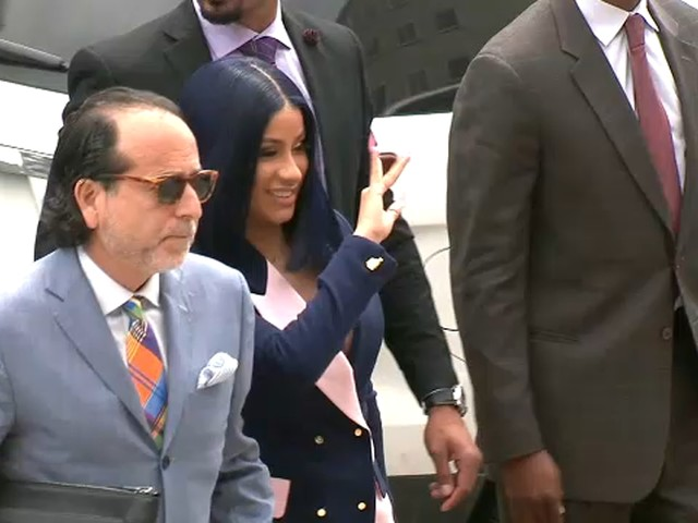Cardi B pleads not guilty to felony charges in New York City strip club melee