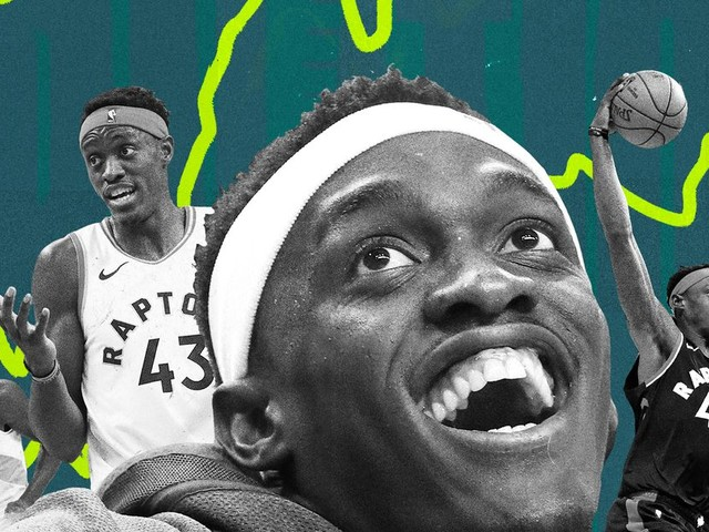 Pascal Siakam does everything when you least expect it