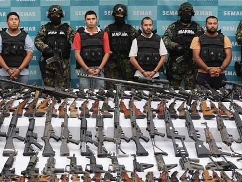 Mexico Demands US Halt Weapons Flow Across Border
