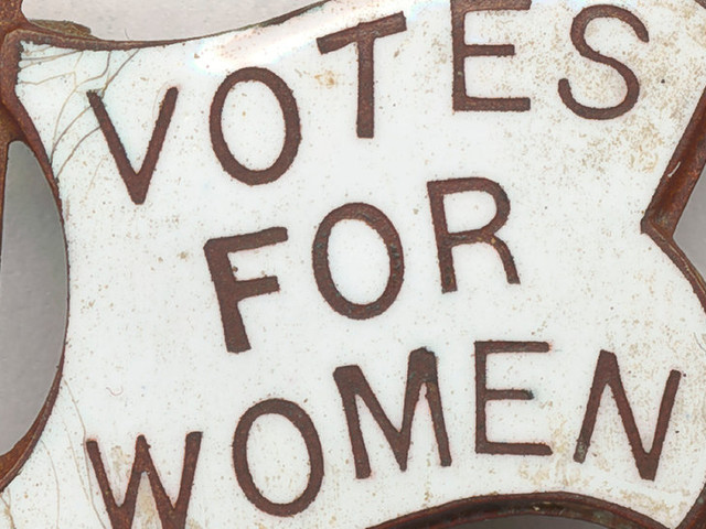 When Was the First Time a Woman in Your Family Voted?