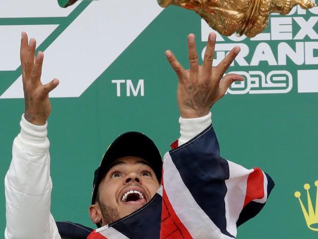 Lewis Hamilton wins record 6th British GP, extends F1 lead