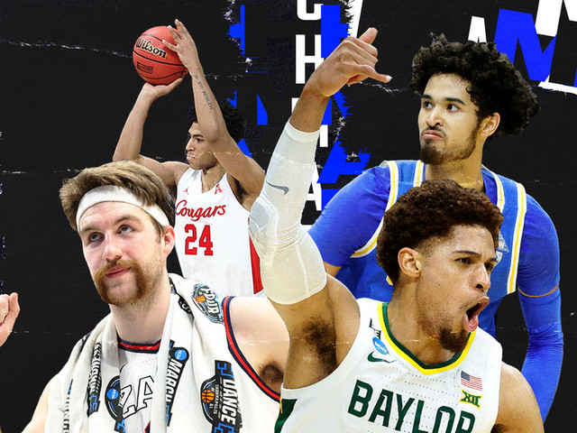 Final Four teams in the men's NCAA tournament, ranked