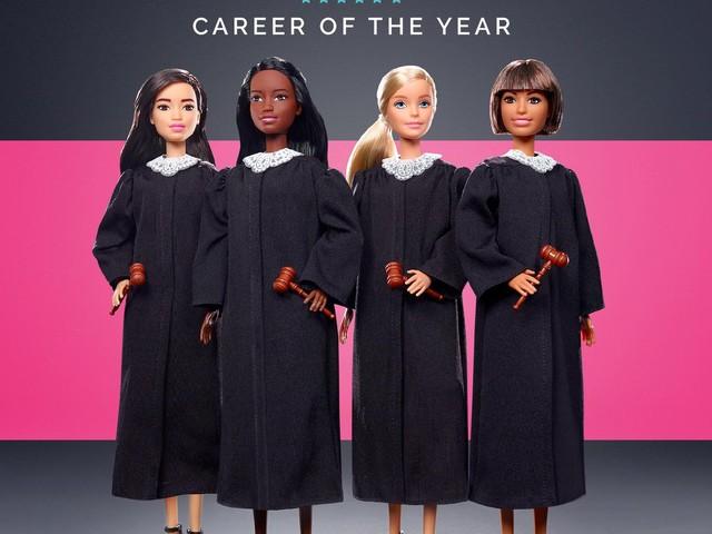 Mattel introduces its career of the year doll, Barbie Judge