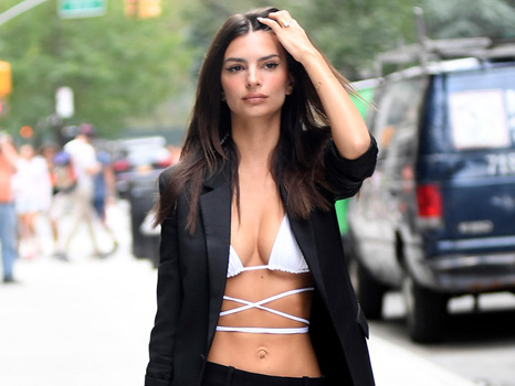 Emily Ratajkowski Poses In Next To Nothing For The 2nd Time In A Week & Fans Are Here For It