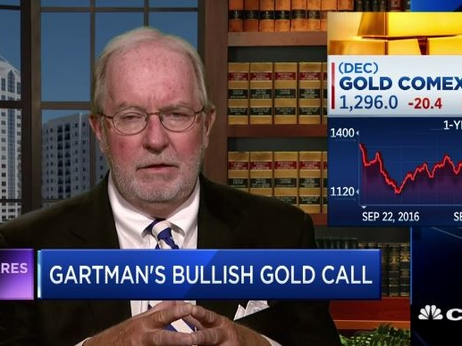 Commodities King Gartman Says Gold Soon Reach $1,400 As Drums of War Grow Louder