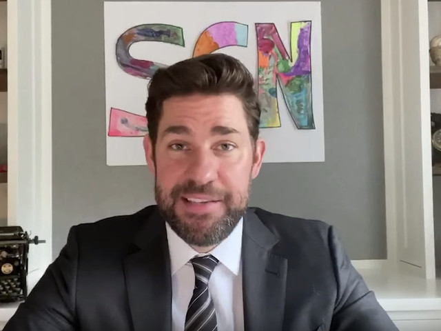 The Office's John Krasinski launched a YouTube channel dedicated to good news