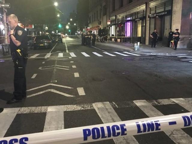 Three people shot in New York City's Greenwich Village