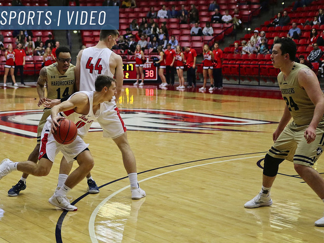 Dixie State hoops roundup: ranked men hold off South Dakota Mines to stay undefeated, women's basketball loses tough one in OT