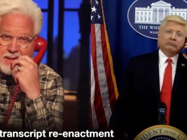 LAUGH: Trump impersonator John Di Domenico joins Glenn Beck to re-enact the actual Ukraine call transcript