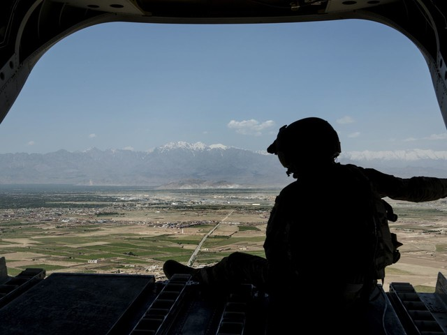 Two U.S. service members killed in helicopter crash during Afghanistan combat