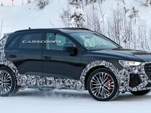 2020 Audi RS Q3's Path To Segment Crown Comes With Loads Of Power
