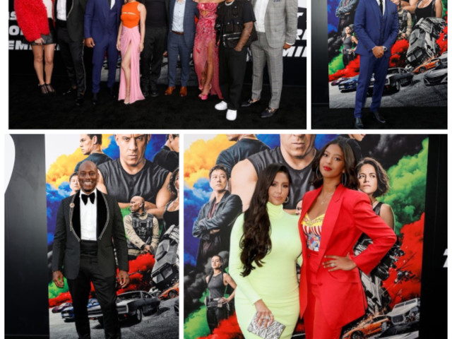 Tyrese, Ludacris, Bow Wow, Vanessa & Natalia Bryant Rev Up The Red Carpet For 'F9' World Premiere In Hollywood