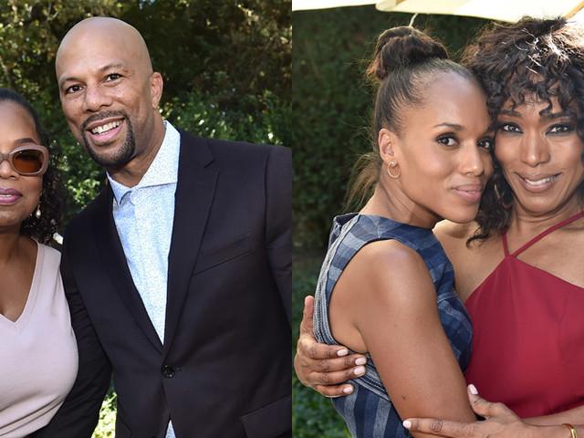 Kerry Washington, Angela Bassett, Common & More Stars Visit Oprah Winfrey's House for Gospel Brunch!