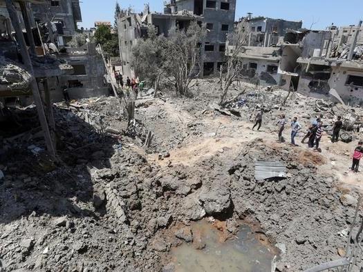 "US Again Blocks UN Statement Urging Halt To Gaza Violence - Accused Of""Obstructionism"""
