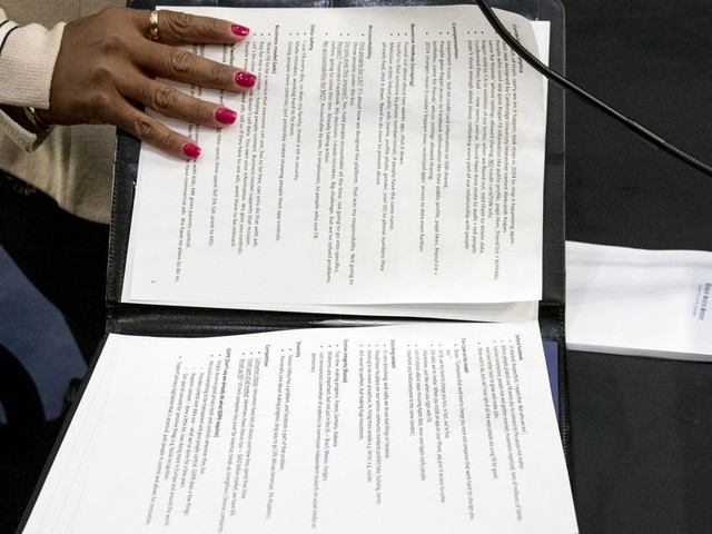 Read Mark Zuckerberg's notes from today's Facebook privacy Senate hearing