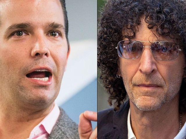 Donald Trump Jr. fires back at Howard Stern: 'That's total bulls**t!'