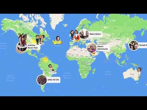 Snapchat Debuts New 'Snap Map' Location Sharing Feature
