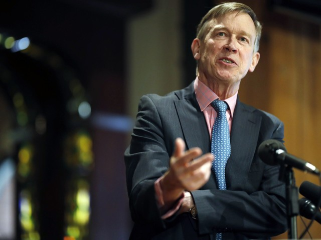 John Hickenlooper would suspend federal death penalty as president