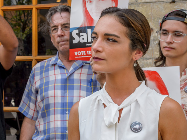 Democratic Socialist candidate under fire for allegedly lying about her past
