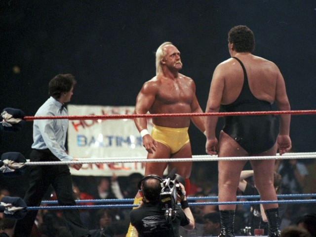 """""""Signed in Blood""""- On This Day: The Hulk Hogan vs André the Giant Contract Signing That Changed WWE Forever"""