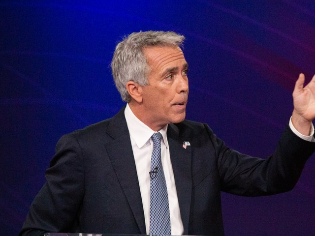 GOP primary challenger Joe Walsh says he 'a big gun guy' and that 'the numbers' on gun violence have been good the past few decades