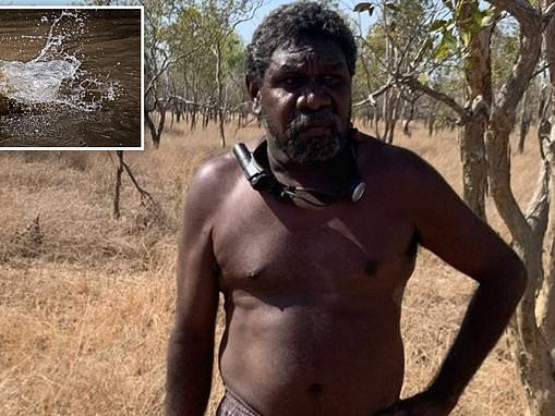 Dad's incredible tale of survival after spending four days walking across bushland barefoot