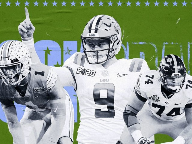 The 2020 NFL mock draft database