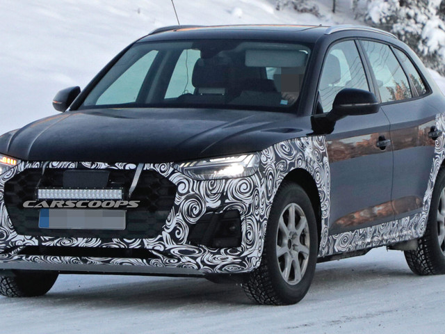 2020 Audi Q5 Caught Testing In The Snow Before Next Year's Debut