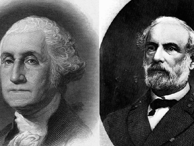 Students at Washington & Lee University want portraits of Washington and Lee removed from diplomas