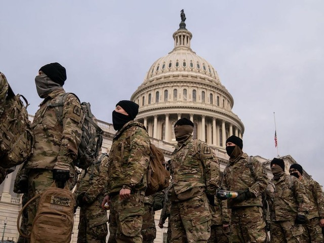I went inside the US Capitol's immense security bubble to cover the most surreal presidential inauguration of my lifetime. Here's what I saw.