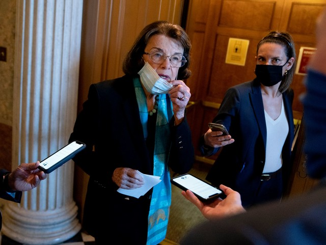 Feinstein Says She's Totally Cool With Senators Who Helped Incite Capitol Riot