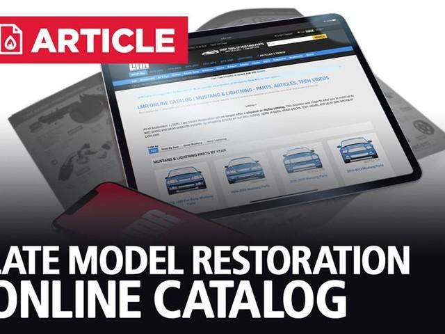 LMR Online Catalog | Mustang & Lightning Parts, Articles, Tech Videos