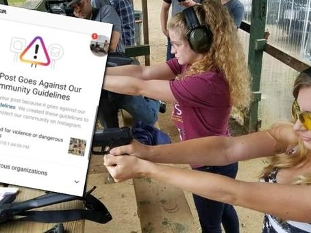 """Instagram Now Banning Photos Of People At Gun Ranges, Claiming They Promote """"Violence"""""""