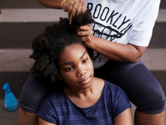 Come Hell Or Hot Comb: My Unpopular Opinion On Doing My Daughter's Hair