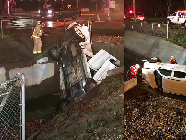 Suspected DUI driver arrested after crashing into Port Hueneme canal