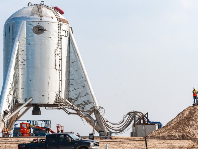 SpaceX aborted the final launch of its shiny Starhopper rocket ship less than a second before liftoff. Elon Musk says the company will try again Tuesday.
