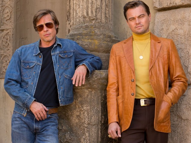 Brad Pitt, Leonardo DiCaprio's Once Upon a Time in Hollywood Movie Poster Slammed for 'Looking Photoshopped'